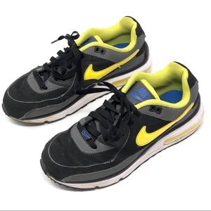 Nike Air Max Wright Black Gray Yellow Running Shoe